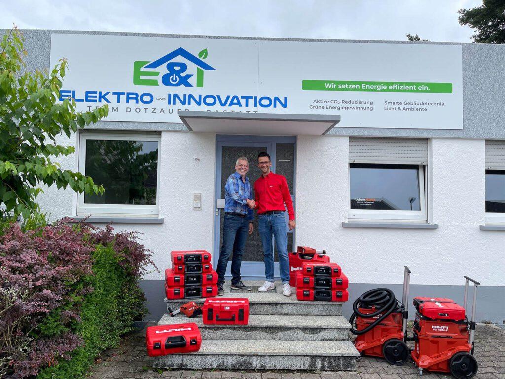 Elektro_Innovation_CAPSO_Group_Partnerschaft_Hilti_Heinzler_Scrobocz